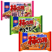 Kameda crisps rice cracker 3 flavors KAKI no TANE