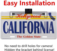 Load image into Gallery viewer, License Plate Ir Car Rear View Backup Camera