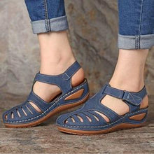 Load image into Gallery viewer, Orthopedic Premium Lightweight Leather Sandals, 2020 Genuine Leather Casual Orthopedic Sandal