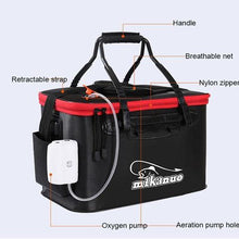 Load image into Gallery viewer, 【50% off today】Foldable Waterproof Fishing Bucket - Live Fish Container