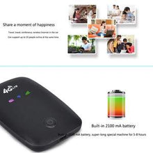 Load image into Gallery viewer, 4G-LTE FDD Wireless Portable Wifi Router