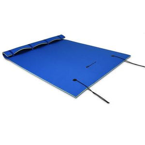 Floating Water Pad Mat,the Three-layer Xpe Foam is Compounded Roll-up Floating Island