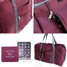 Load image into Gallery viewer, (65%OFF) TRAVEL FOLDABLE DUFFEL BAG