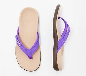 Vionic Thong Sandals With Buckle Detail - Buy 3 Get 10% Off