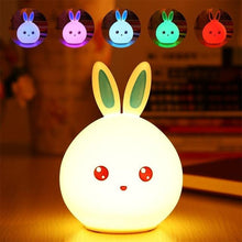 Load image into Gallery viewer, Glowing Bunny Night Lamp