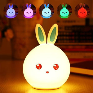 Glowing Bunny Night Lamp