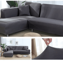 Load image into Gallery viewer, LineSofa Decorative Stretchable Elastic Sofa Covers, Premium All-Season Sofa Slip Covers Pet-Friendly and Stain-Resistant