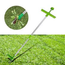 Load image into Gallery viewer, Standing Plant Root Remover - Long Handle Weed Remover - Garden Lawn Weeder