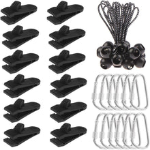 Load image into Gallery viewer, Tarp Clips Heavy Duty Lock Grips 10 Pcs, 12 Pcs