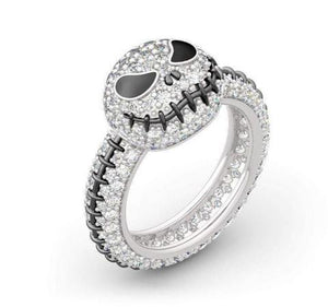 Sterling Silver Jack Skull Ring - Secret Lake Store