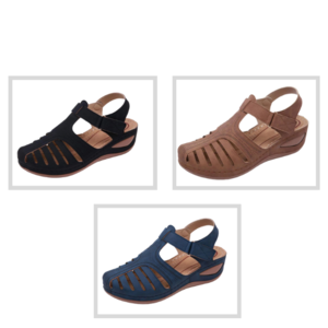 Orthopedic Premium Lightweight Leather Sandals, 2020 Genuine Leather Casual Orthopedic Sandal