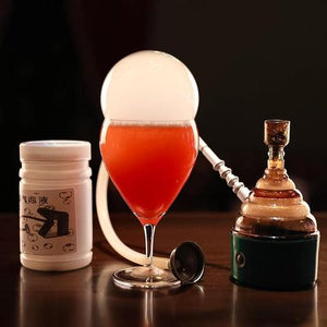 Cocktail Smoke Bubble Maker