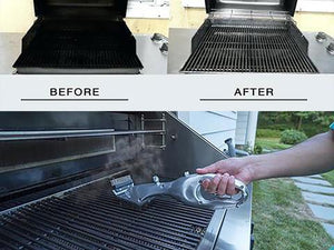 Bbq Grill Brush - Grill Buff - Steam-powered Grill Brush