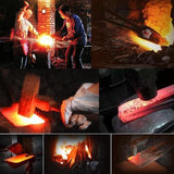 Heavy Forge™ Custom Serbian Handmade Kitchen Meat Vegetable Butcher Knife - Secret Lake Store