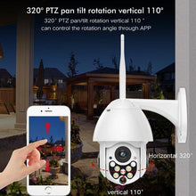 Load image into Gallery viewer, IP OUTDOOR WIRELESS WIFI SECURITY CAMERA