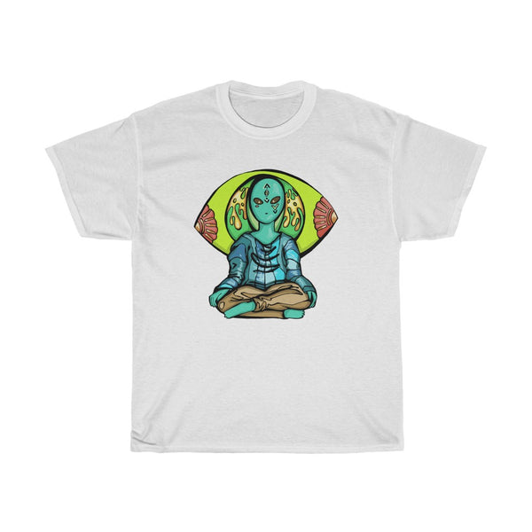 Alien Kung Fu Master | Unisex Heavy Cotton Tee | Savage Bliss