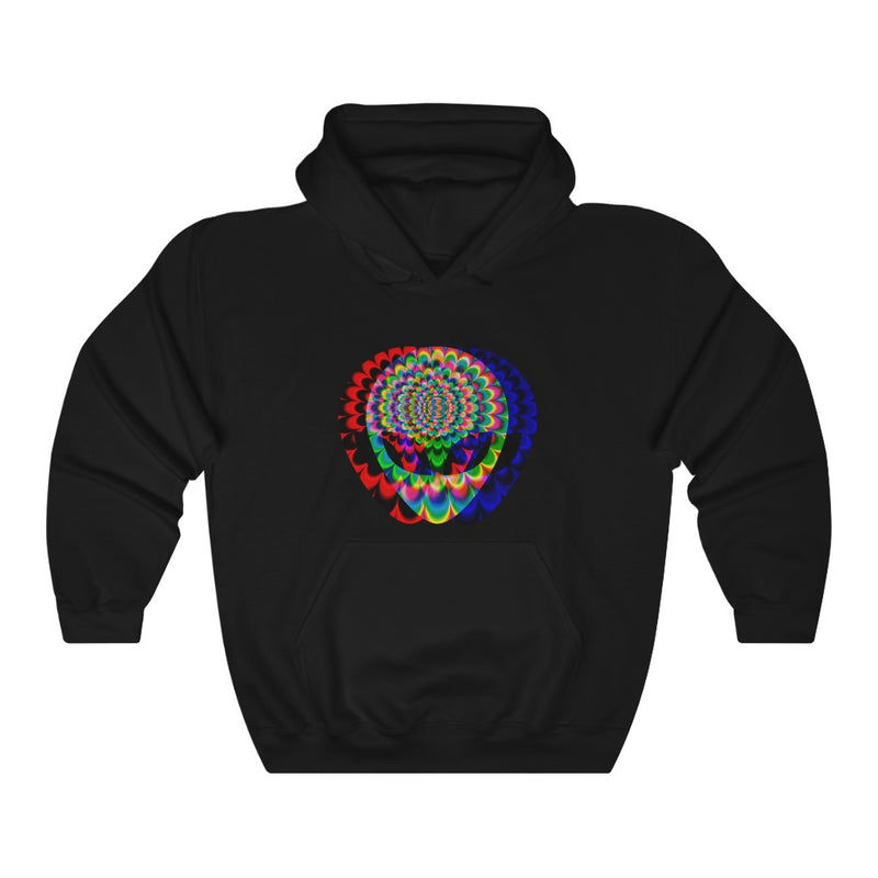1 Aliens Trip GLITCH Unisex Heavy Blend™ Hooded Sweatshirt