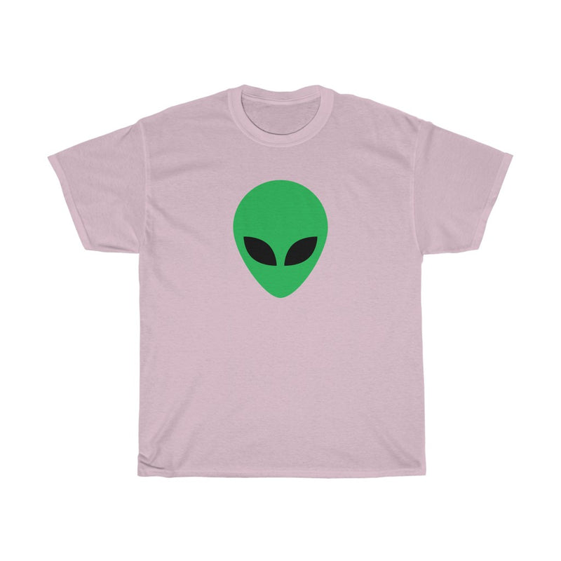 Simple Green Alien Unisex Heavy Cotton Tee
