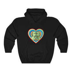 Alien Kiss | Unisex Heavy Blend™ Hooded Sweatshirt | Savage Bliss