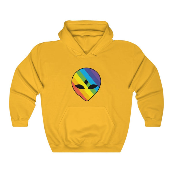 Rainbow 3rd Eye Alien Unisex Heavy Blend™ Hooded Sweatshirt