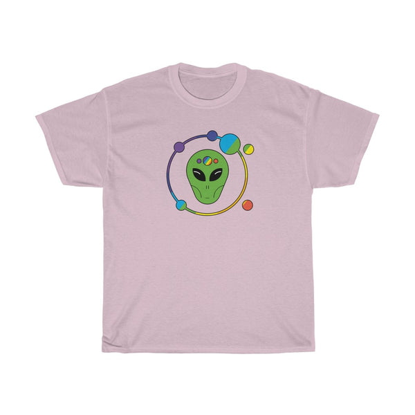 Orbit Rainbow Alien Unisex Heavy Cotton Tee