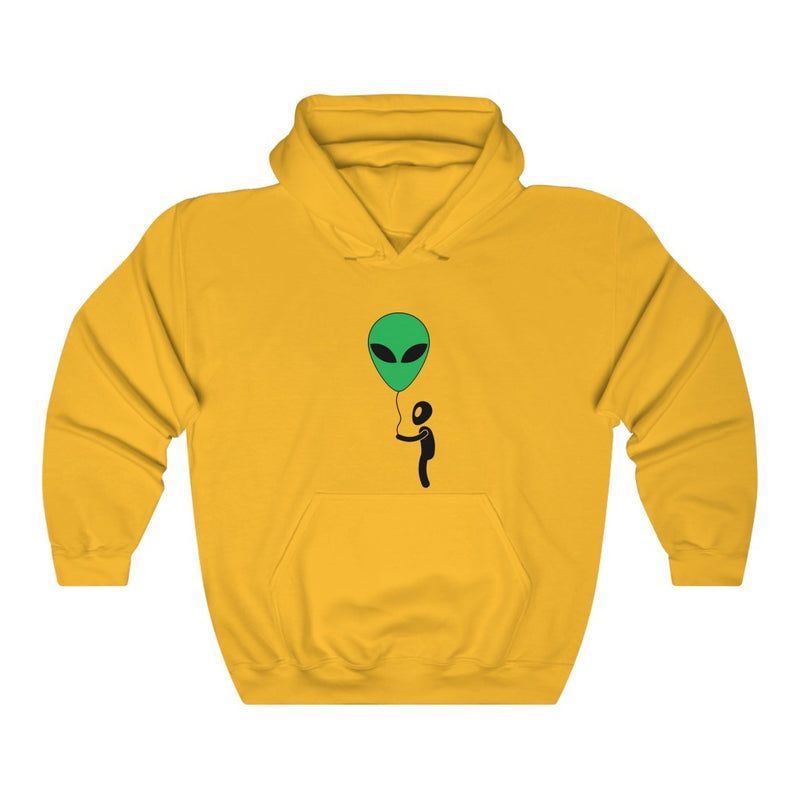 Air Head Alien Unisex Heavy Blend™ Hooded Sweatshirt