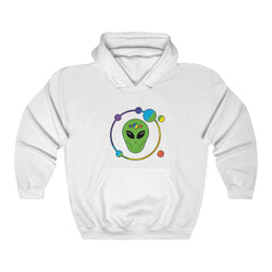 Orbit Rainbow Alien Unisex Heavy Blend™ Hooded Sweatshirt