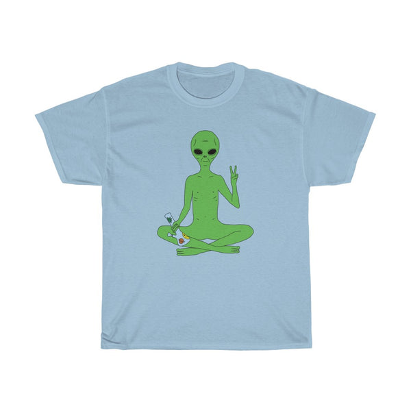 Alien Stoner | Unisex Heavy Cotton Tee | Big K Draws