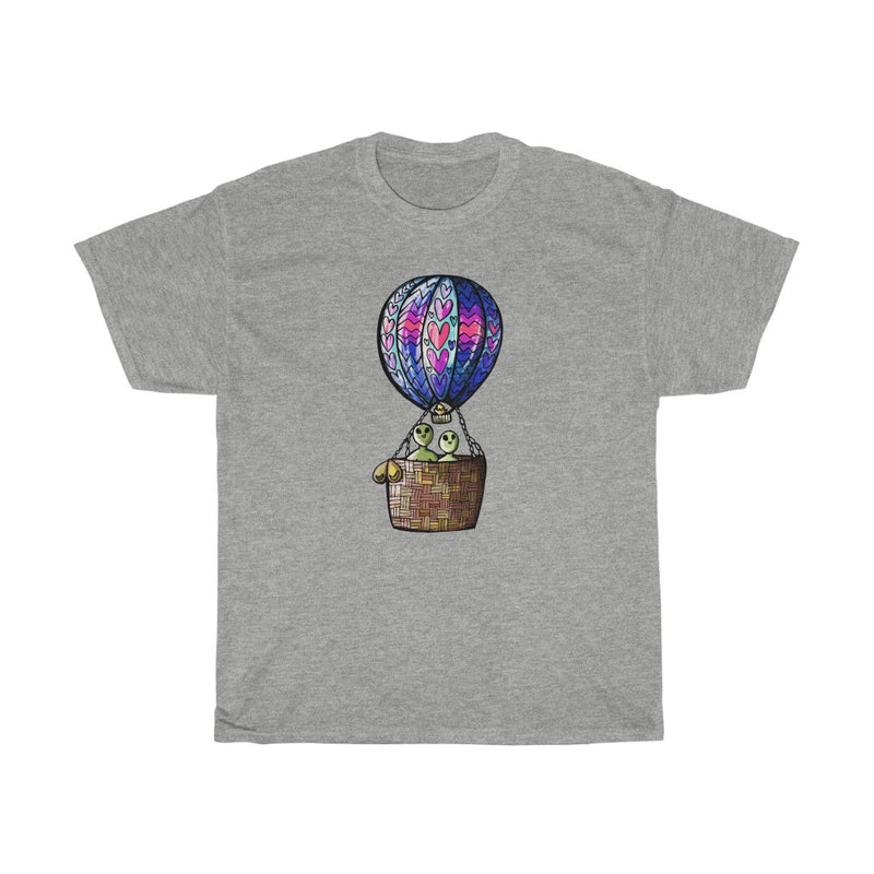 Hot Alien Air Balloon | Unisex Heavy Cotton Tee | Savage Bliss