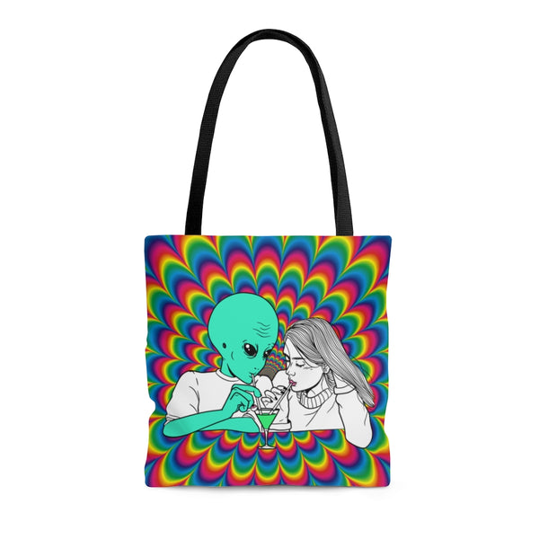 Alien Cocktail | Tote Bag | Alicia In Space