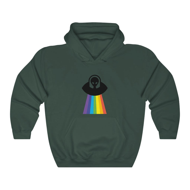 Rainbow UFO Unisex Heavy Blend™ Hooded Sweatshirt