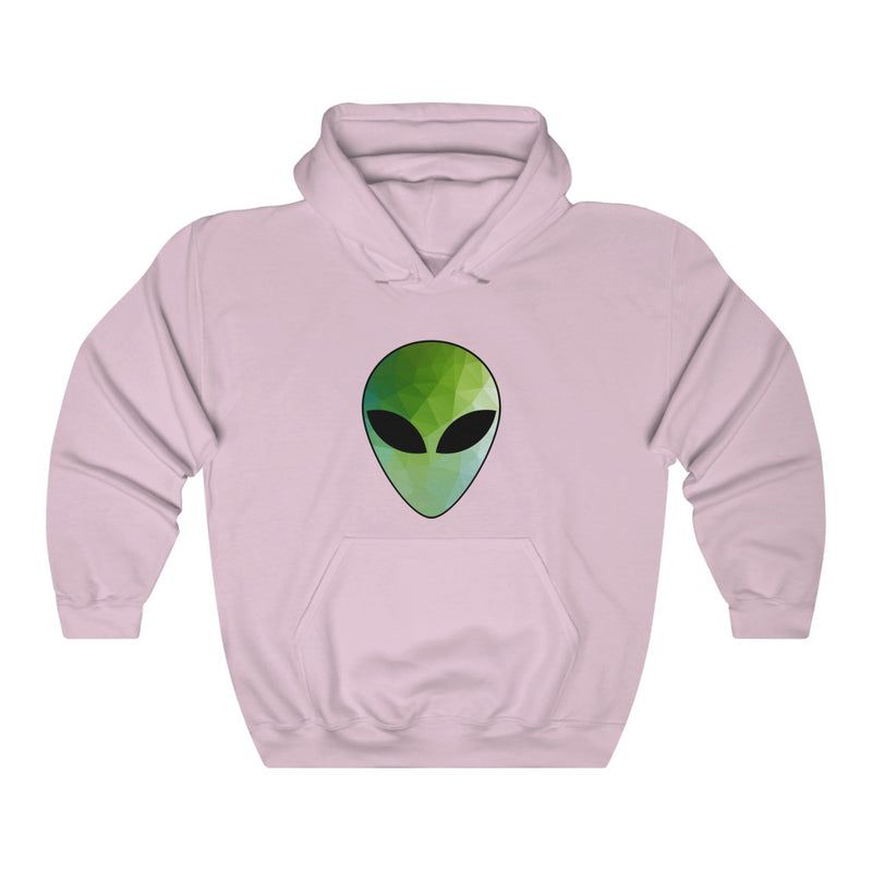 Polygon Alien Unisex Heavy Blend™ Hooded Sweatshirt
