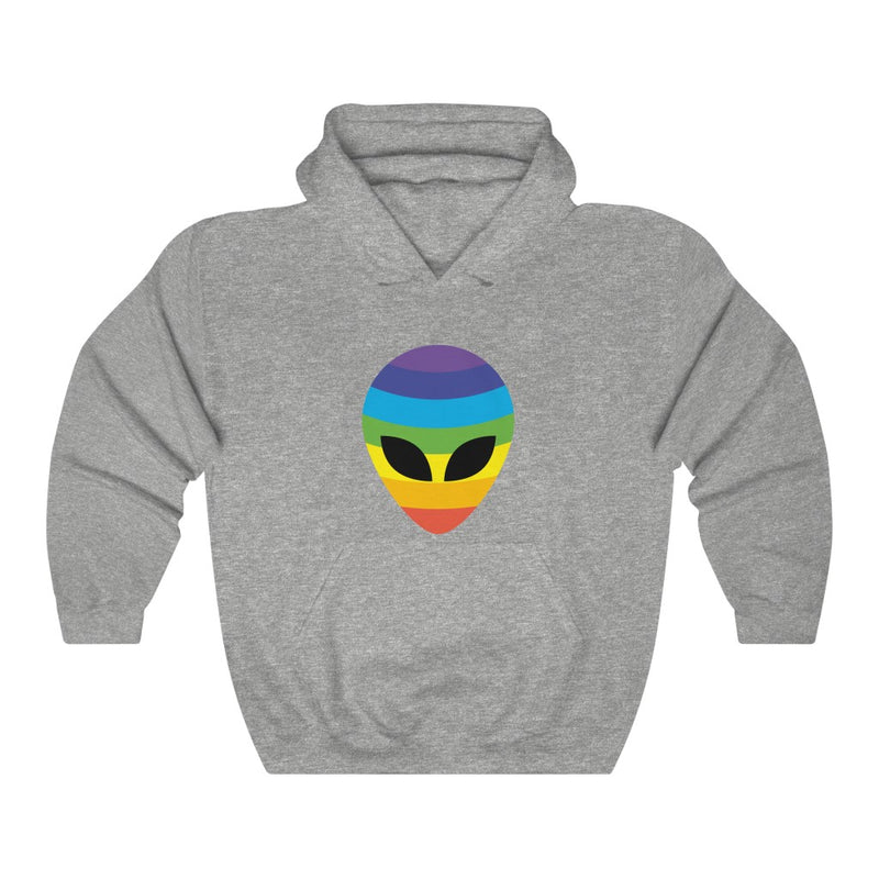 Rainbow Alien Unisex Heavy Blend™ Hooded Sweatshirt