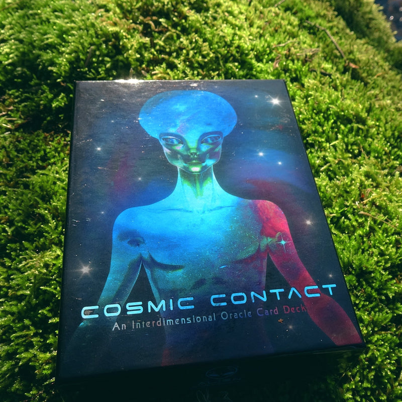 Cosmic Contact Oracle Deck