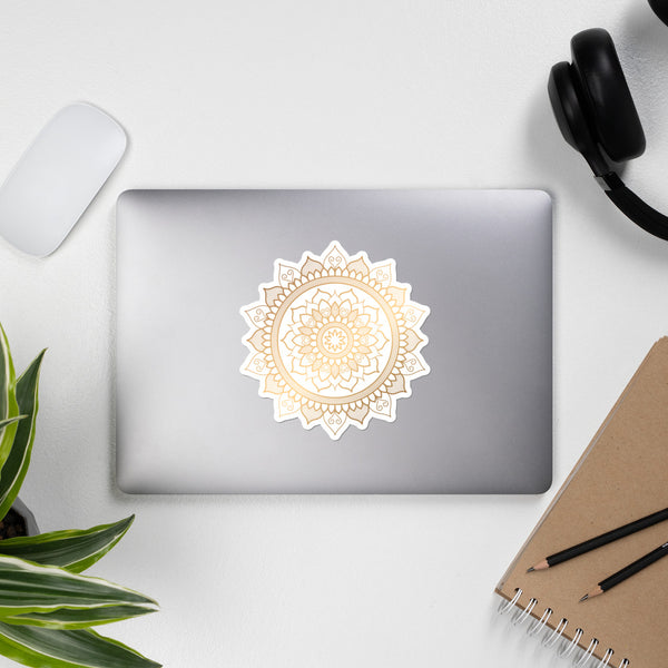 Golden Mandala 7 - Bubble-free stickers