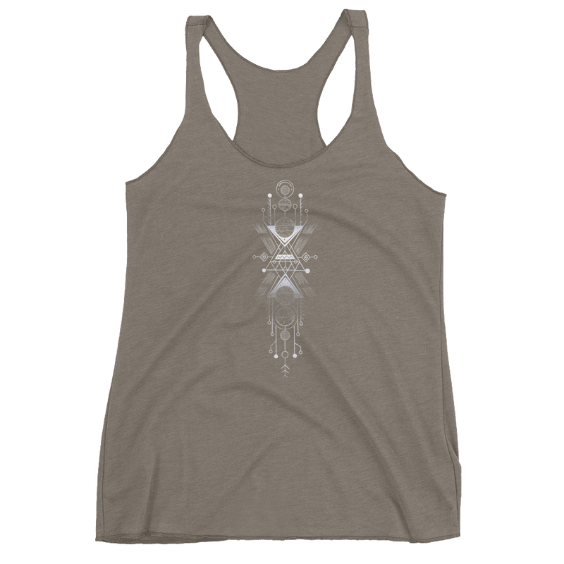 Interplanetary Geometry 1 -  Women's Racerback Tank