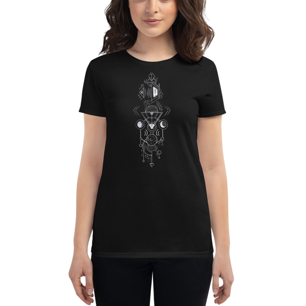 Interplanetary Geometry 2 - Women's short sleeve t-shirt