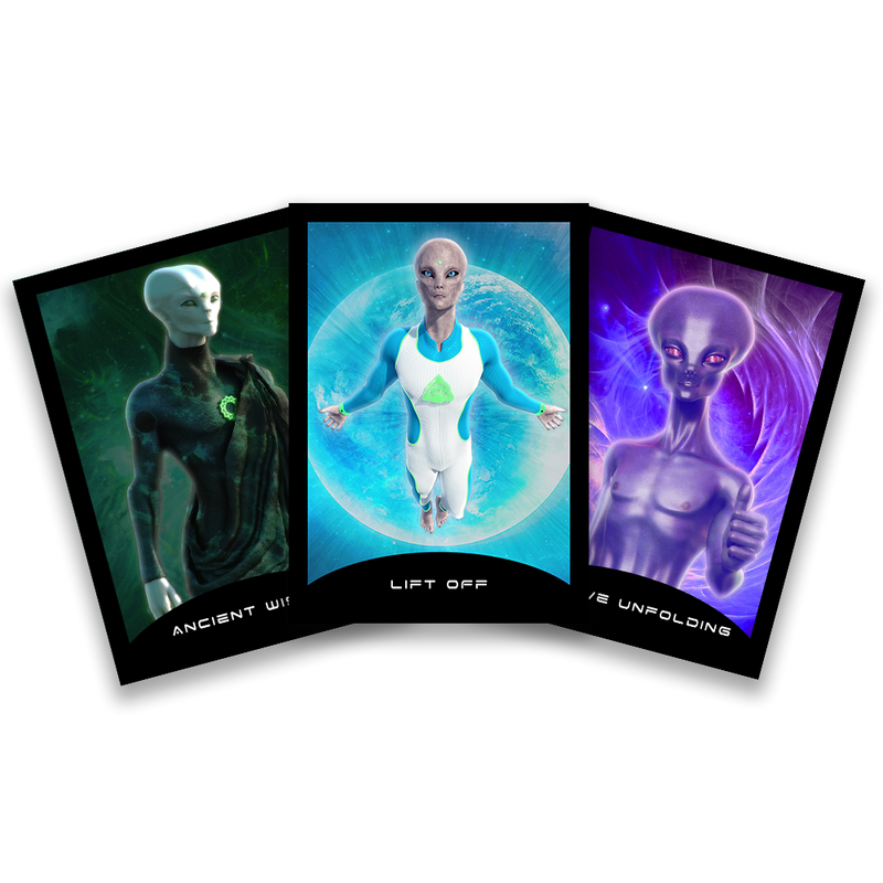 Cosmic Contact Oracle Deck - PREORDER