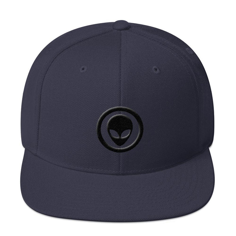 Alien Clothing - Alien Embem Snapback Hat - Alien Symbology