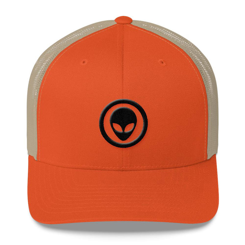 Alien Clothing - Alien Emblem Mesh Hat - Trucker Cap - Alien Symbology