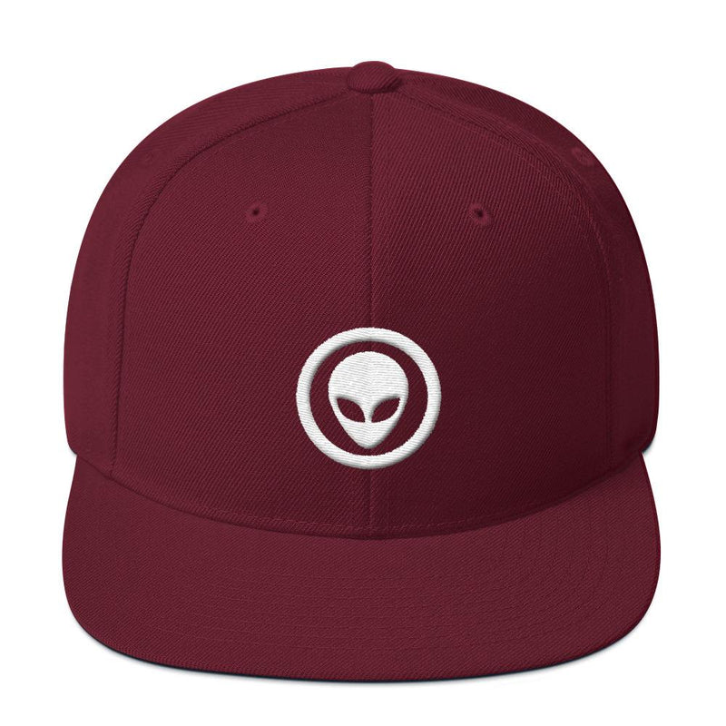 Alien Clothing - Alien Emblem Snapback Hat - Alien Symbology
