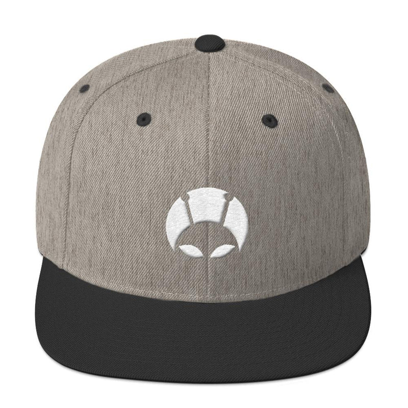 Alien Clothing - Peekaboo Alien Snapback Hat - Alien Symbology
