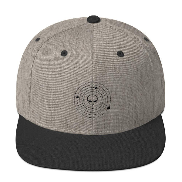 Alien Clothing - Snapback Hat - Alien Symbology