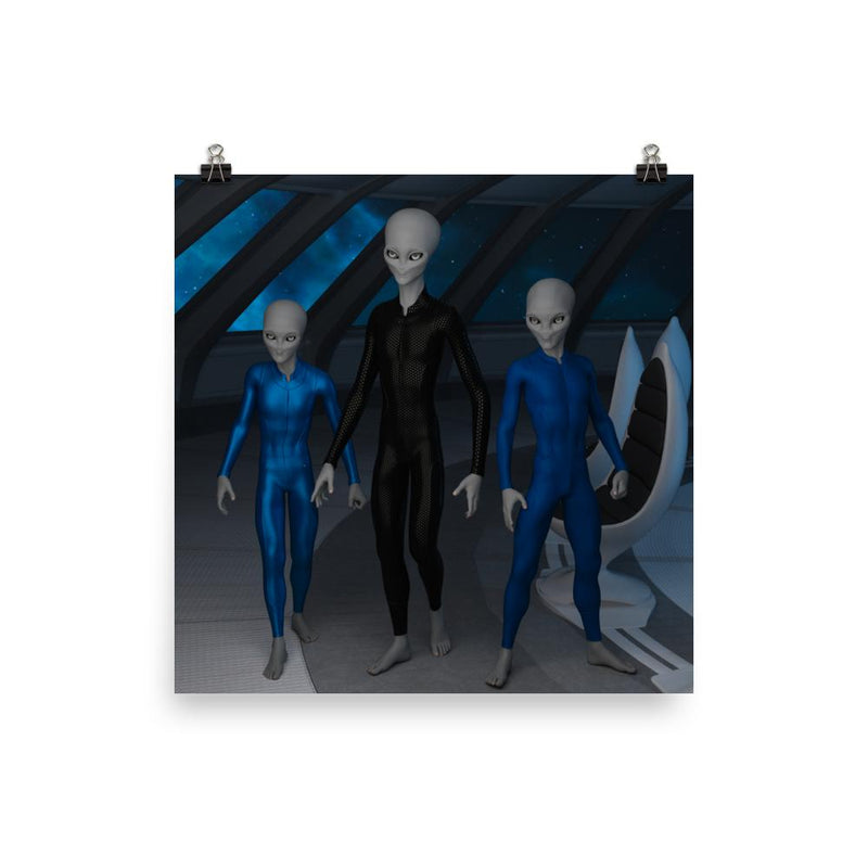 Alien Clothing - Ship Crew Alien Poster - Alien Symbology