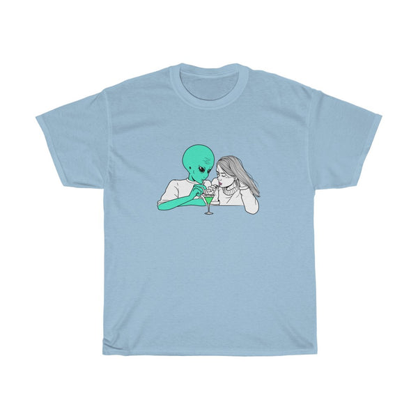 Alien Cocktail | Unisex Heavy Cotton Tee | Alicia In Space