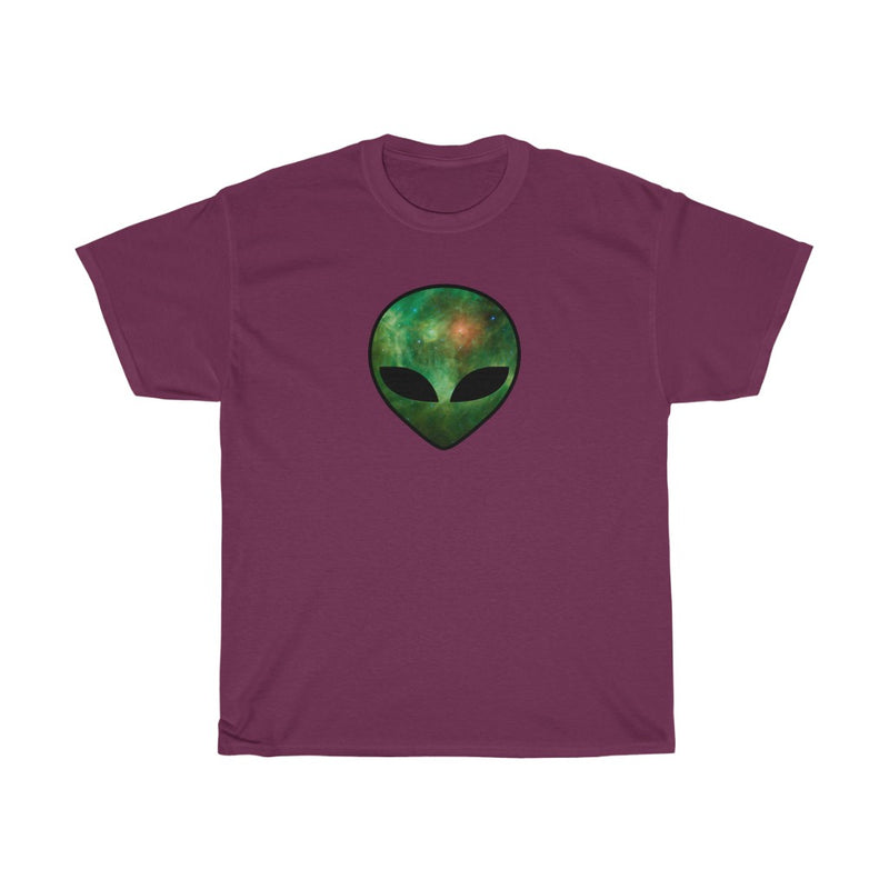 Cosmic Alien Unisex Heavy Cotton Tee
