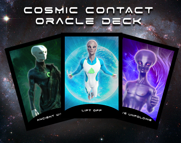 DIGITAL Cosmic Contact Oracle Deck + FULL CARD DIRECTORY