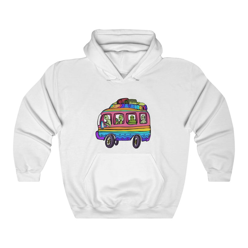 Alien Road Trip | Unisex Heavy Blend™ Hooded Sweatshirt | Savage Bliss