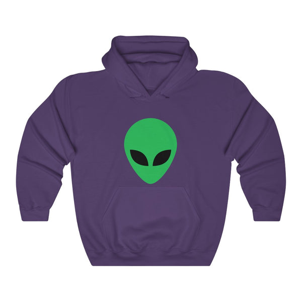 Simple Green Alien Unisex Heavy Blend™ Hooded Sweatshirt