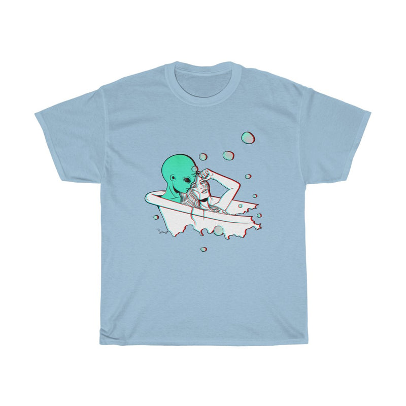 Taking A Bath With Bae | Unisex Heavy Cotton Tee | Alicia In Space